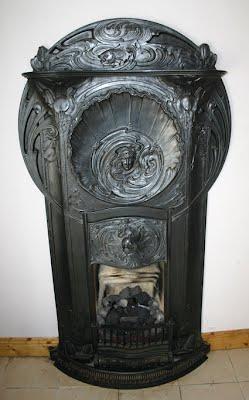Antique Fireplaces Dublin Art Nouveau