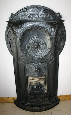 Antique Fireplaces Dublin Art Nouveau